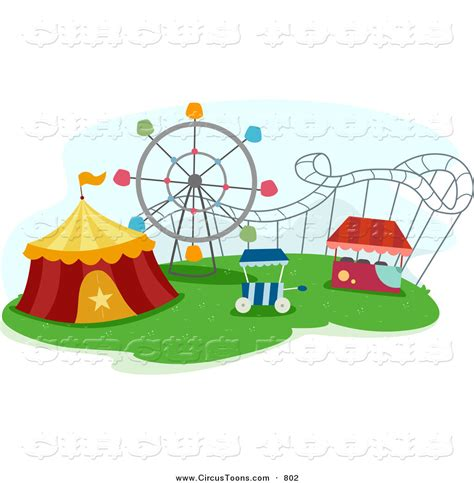 theme park clipart royalty free amusement park stock circus designs
