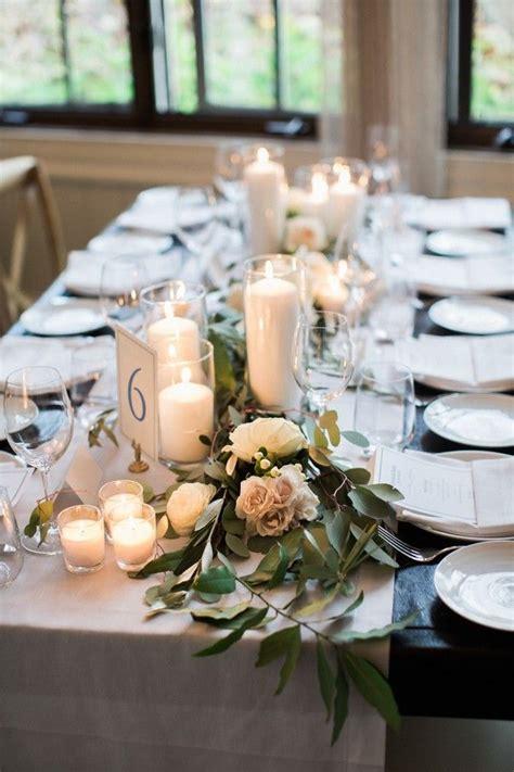 lush wedding garland runner ideas   reception
