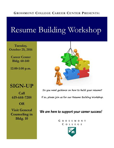 Resume Workshop by Resume Building Workshop