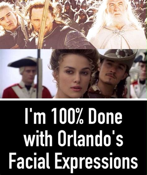 Orlando Bloom Meme - i was watching pirates of the caribbean when i noticed