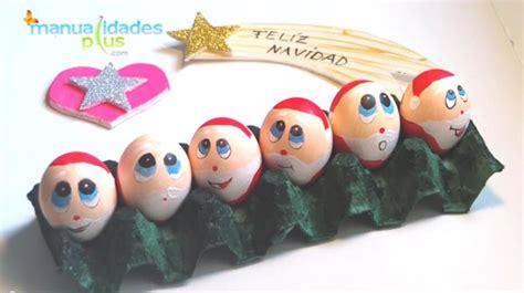adornos navideos con reciclaje adorno navidad con reciclaje de huevos