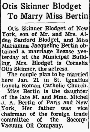 Amelia Otis Earhart Also Search For Otis Skinner Blodgett 1930 2007 Wikitree Free Family Tree
