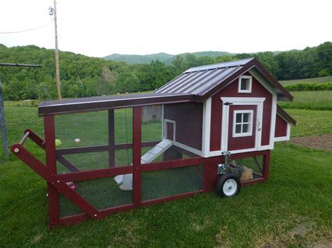 backyard chicken tractor my new chicken tractor