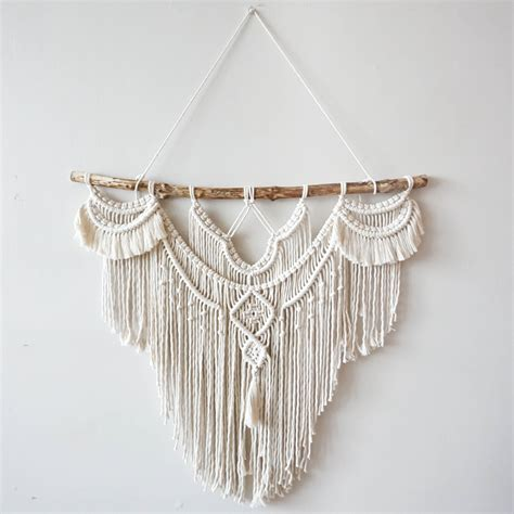 Large Macrame Wall Hanging - large 30 macrame wall hanging tapestry macrame