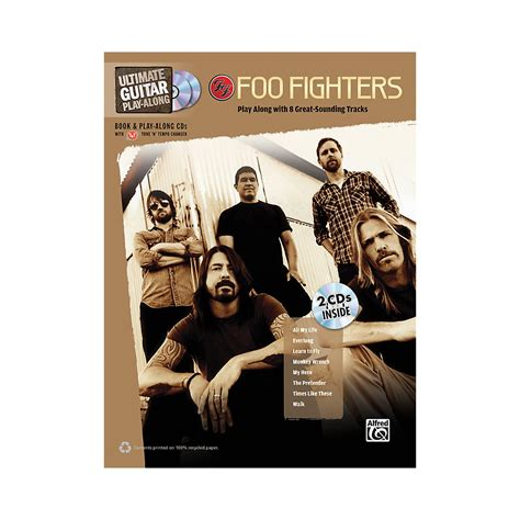 the pretender play books sheet song books hal leonard foo fighters