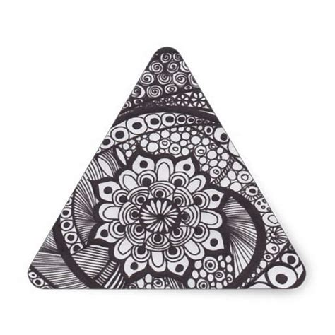 tattoo mandala triangle spiral mandala triangle sticker mandalas style and stickers