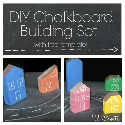diy chalkboard sign template diy chalkboard building set with free template u create