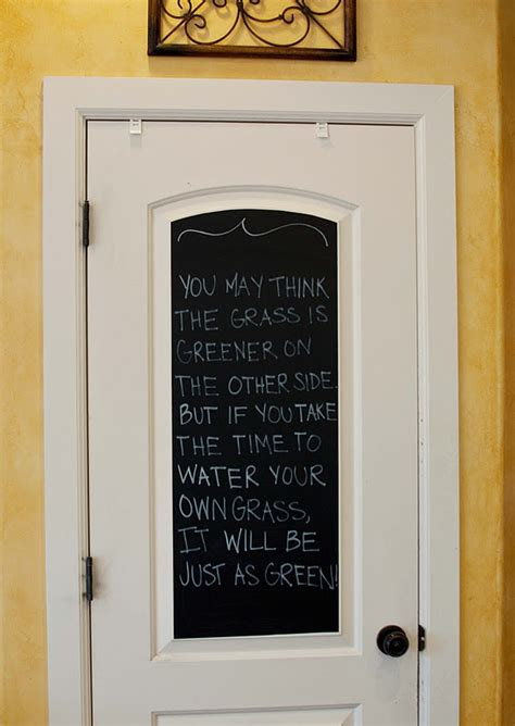 Pantry Chalkboard by Pantry Door Chalkboard For The Home