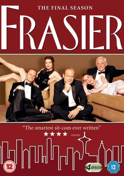 frasier the complete season dvd frasier complete season 11 repackaged dvd zavvi