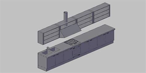 muebles de cocina completos bloques autocad gratis de amueblamiento completo de cocina