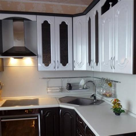corner sink small kitchen design pictures remodel decor modern kitchens with space saving and ergonomic corner sinks