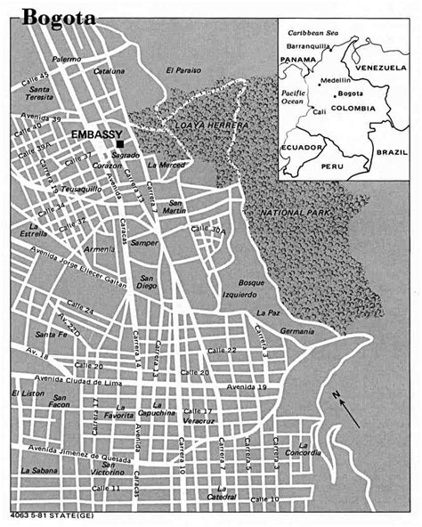 Mapas de Bogotá - Colômbia | MapasBlog