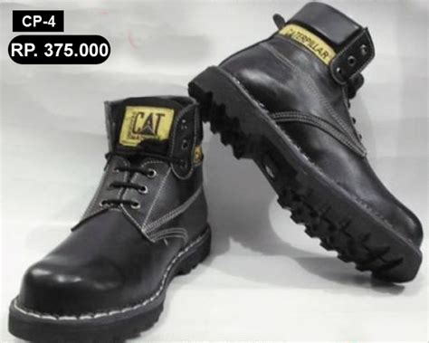 Foto Dan Sepatu Caterpillar jual sepatu kulit pesan sepatu murah 085646750558 pin