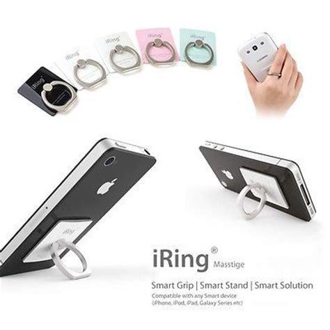 Finger Iring Universal Mount Smartphone Holder White desks 5 s and phones on