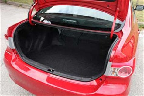 Trunk Space Toyota Corolla Used Toyota Corolla 2009 2013 Expert Review