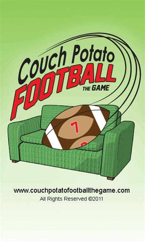 couch football couch potato football the app 1 0 android app