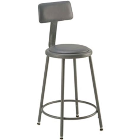 Shop Stools With Backs by Stools Steel Wood Shop Stool With Back And Padded