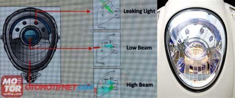 Lu Projie Satu Set lu projector honda scoopy fi menggunakan bohlam hs1