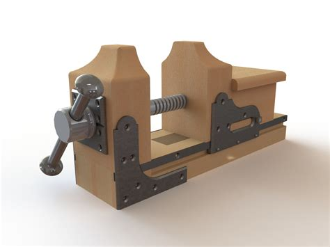 De Bamboo This Is How To Build A Woodworking Vise