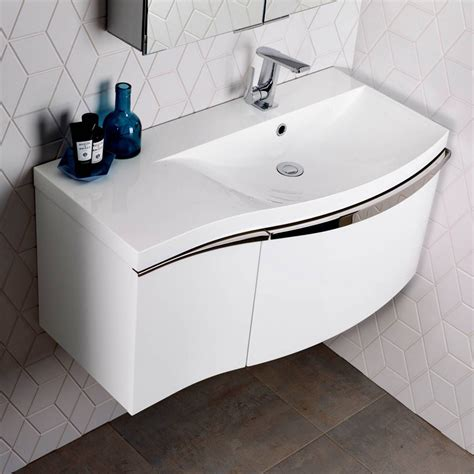 Vanity Units For Bathroom Uk by Roper Serif Wall Mounted Vanity Unit Uk Bathrooms