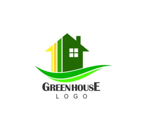 house logo design vector green house construction building vector logo alphabet logos vector logos free