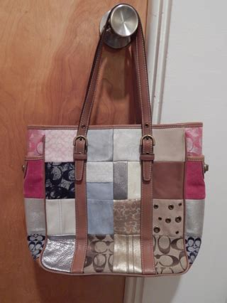 Patchwork Coach Purse - free coach patchwork purse 10001 handbags listia