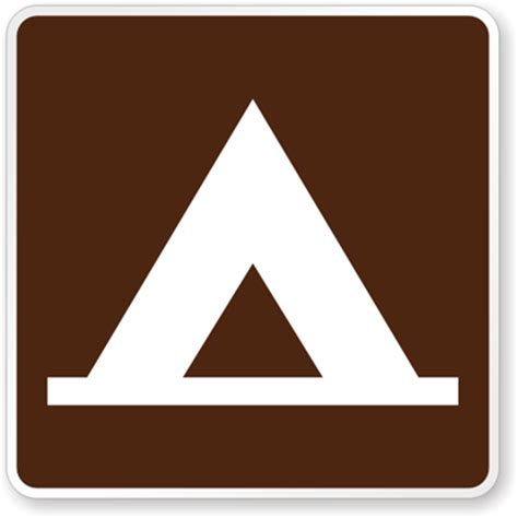 the color of a recreation area sign is mutcd csite markers cground info markers