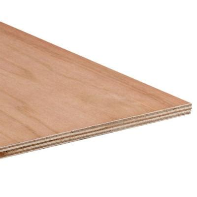 3 4 in 4 ft x 8 ft cedar plywood 374521 the home depot