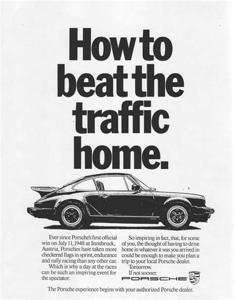Classic Essays On Photography 1980 by The Best Car Ads Of The 1980s Bloomberg