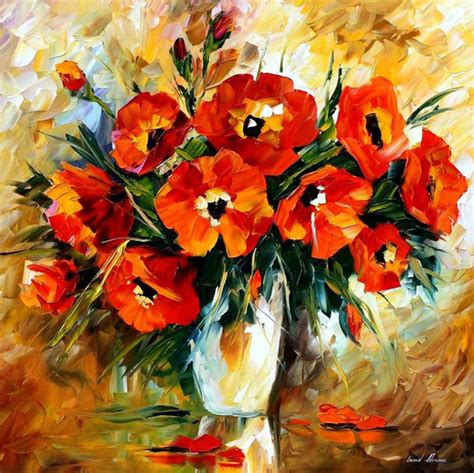 Painting With Flowers by Free Flower Paintings