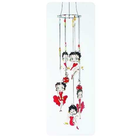 betty boop dress metal wind chimes spoontiques