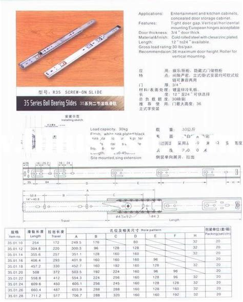 Sterling Drawer Slides by Sterling Bearing Drawer Slides Sterling Bearing
