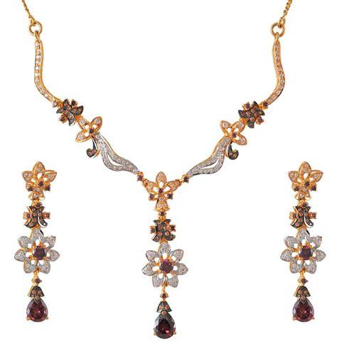 22k fancy necklace set stgd4579 22k gold fancy