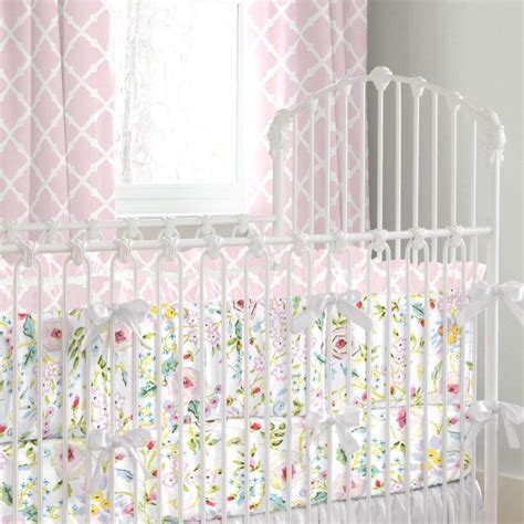 crib bedding pink and gray pink and gray primrose crib bedding carousel designs