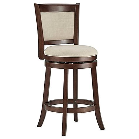 bar stool covers bed bath beyond verona home bramante swivel stools bed bath beyond