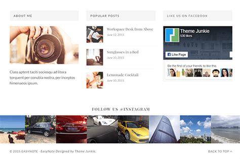 www theme junkie com easynote wordpress theme theme junkie