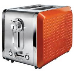 Orange Toasters Dots 2 Slice Toaster Orange