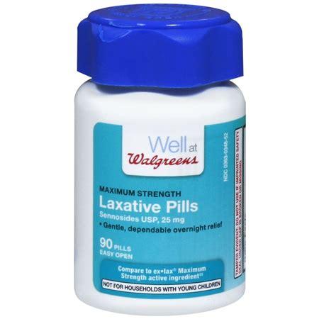 walgreens maximum strength laxative pills walgreens