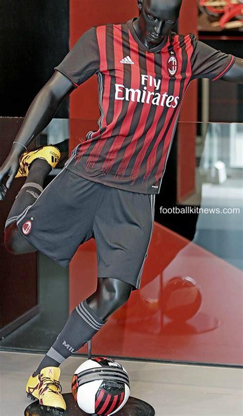 Jersey Ac Milan Home 16 new ac milan kit 2016 17 milan adidas home jersey 16 17