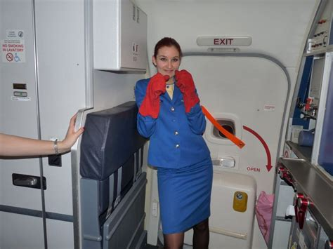 air cabin crew of a cabin crew traveler