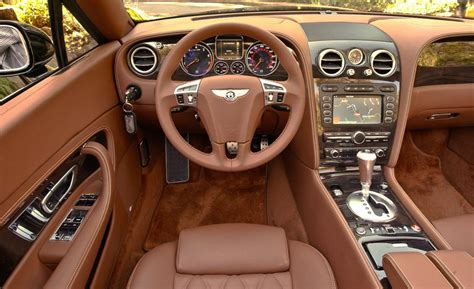bentley continental interior car and driver