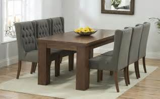 Solid Oak Dining Room Furniture dark wood dining table sets great furniture trading