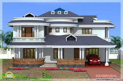 beautiful 4 bedroom villa exterior kerala home design beautiful 4 bedroom kerala home exterior home appliance