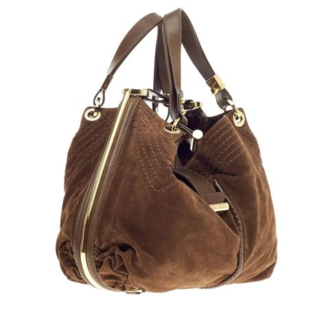 Jimmy Choo Alex Purse by Jimmy Choo Alex Hobo Suede At 1stdibs