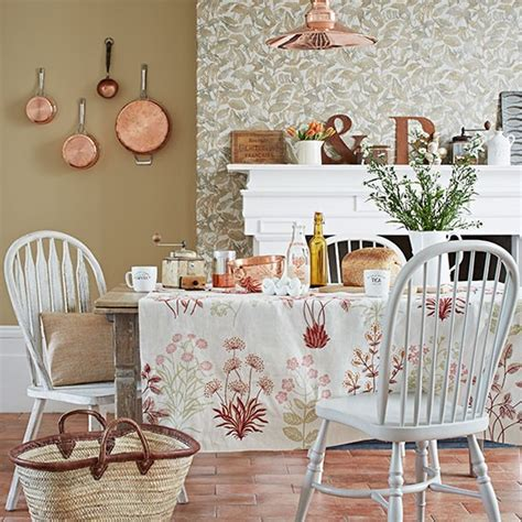 Terracotta Dining Room by Dining Room With Terracotta Floor Tiles Decorating