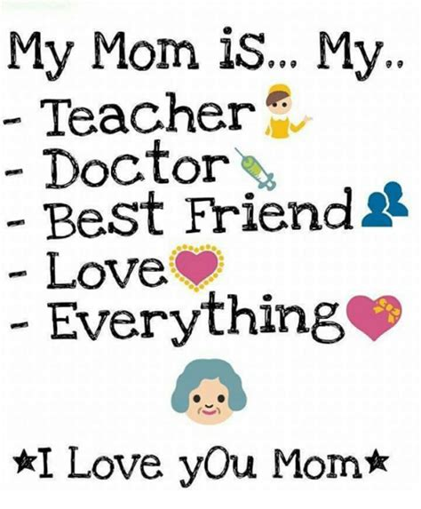 Love My Mom Meme - 25 best memes about doctor and teacher doctor and