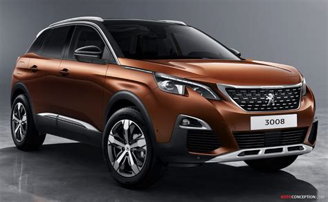 peugeot suv 2016 2017 peugeot 3008 suv revealed autoconception com