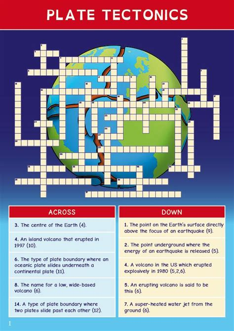 5 themes of geography crossword puzzle ce geography revision crosswords level 2 oaka books