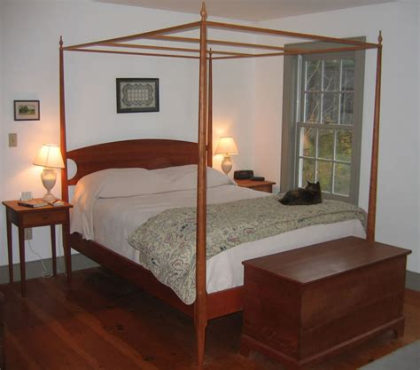 Bed Frame Post Pencil Post Beds In Solid Cherry Maple Or Mahogany Bissellwoodworking