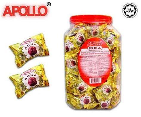 Apollo Roka Wafer Yang Manis jual coklat di surabaya harga murah distributor beli